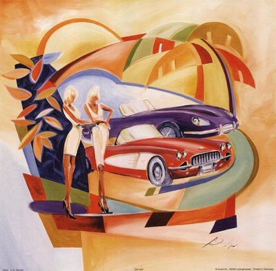 Classic Cool I art print by Alfred Gockel for $15.00 CAD