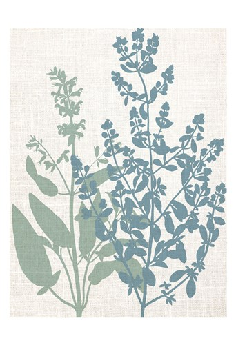 Linen Herbs 2 art print by Ann Bailey for $22.50 CAD