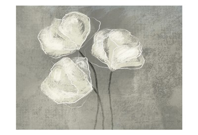 Sketched White Blooms 2 art print by Boho Hue Studio for $22.50 CAD