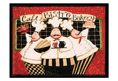 Cafe Bistro Bakery art print by Dan Dipaolo for $22.50 CAD