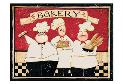 Bakery art print by Dan Dipaolo for $22.50 CAD