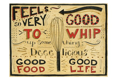 Whip It Up art print by Dan Dipaolo for $22.50 CAD