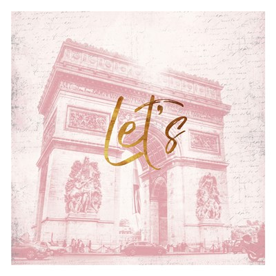 Paris Lets art print by Jace Grey for $18.75 CAD