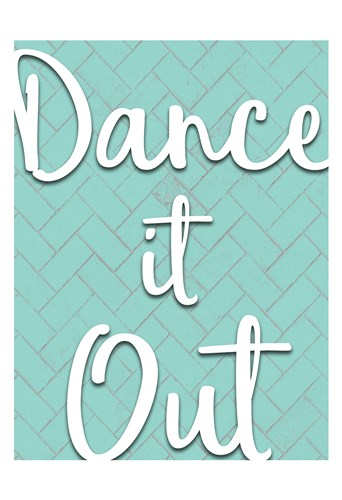 Dance it Out art print by Kimberly Allen for $22.50 CAD