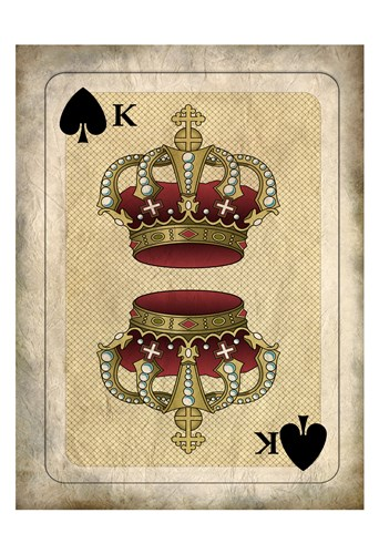 Crowns 1 art print by Allen Kimberly for $22.50 CAD