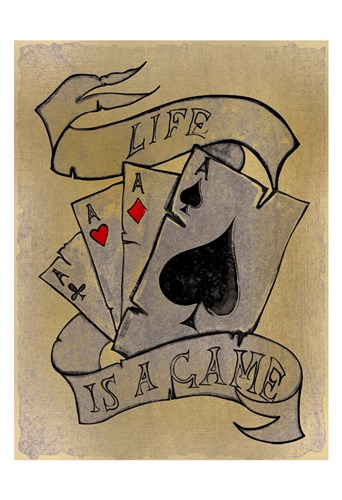 Life is a Game art print by Allen Kimberly for $22.50 CAD