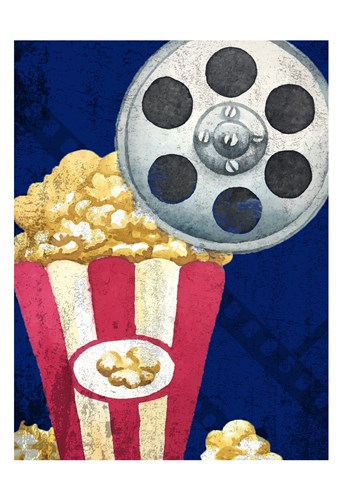 Movie Time 2 art print by Allen Kimberly for $22.50 CAD
