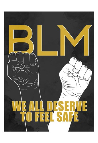 BLM 1 art print by Kimberly Allen for $22.50 CAD