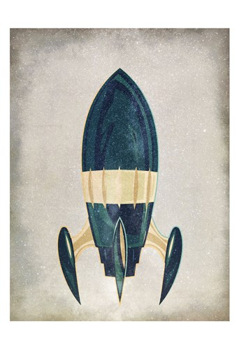To Space 1 art print by Kimberly Allen for $22.50 CAD