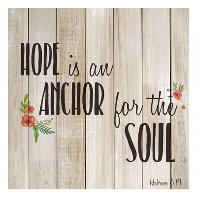 Hope is an Anchor art print by Kimberly Allen for $18.75 CAD