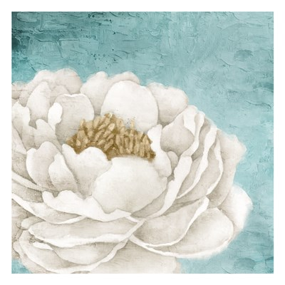 White Peony 2 art print by Kimberly Allen for $18.75 CAD