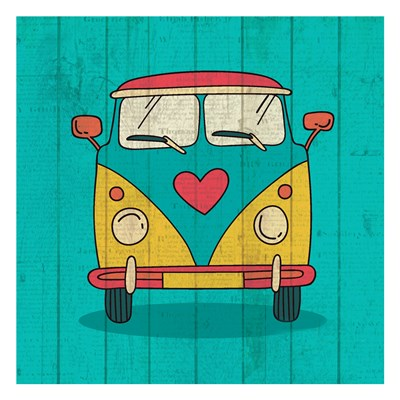 Groovy 1 art print by Kimberly Allen for $18.75 CAD