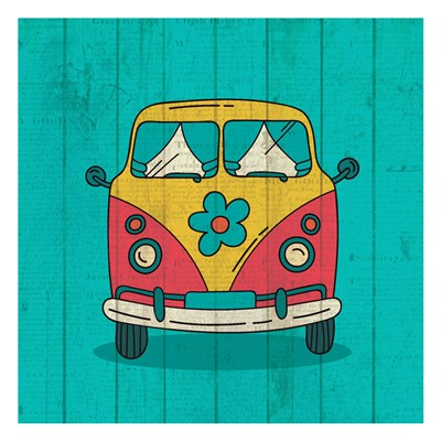 Groovy 3 art print by Kimberly Allen for $18.75 CAD