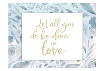 Done In Love art print by Gigi Louise for $22.50 CAD