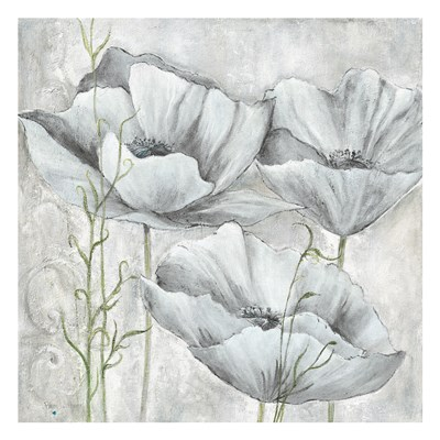 Cool Poppies 1 art print by May for $18.75 CAD