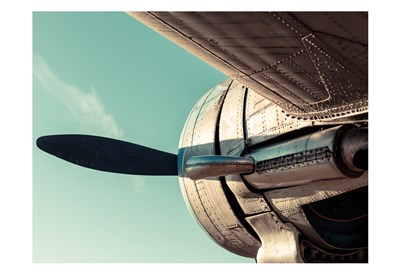 Plane Engine 4 art print by May for $22.50 CAD