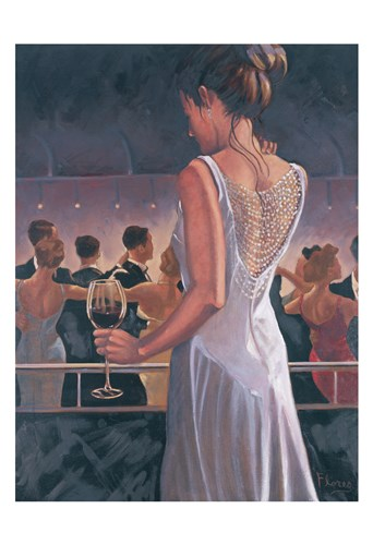 An Enchanted Evening art print by May for $22.50 CAD