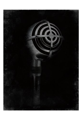 Mic Check 2 art print by Marcus Prime for $22.50 CAD