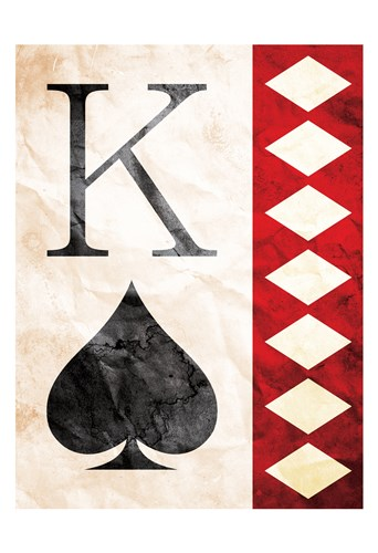 King Of Spades art print by Milli Villa for $22.50 CAD