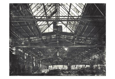 Industrial Life art print by Milli Villa for $22.50 CAD