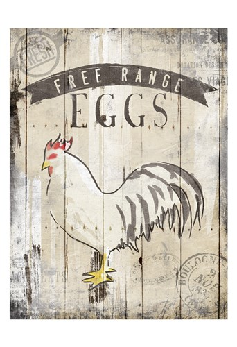 Free Range Eggs art print by OnRei for $22.50 CAD