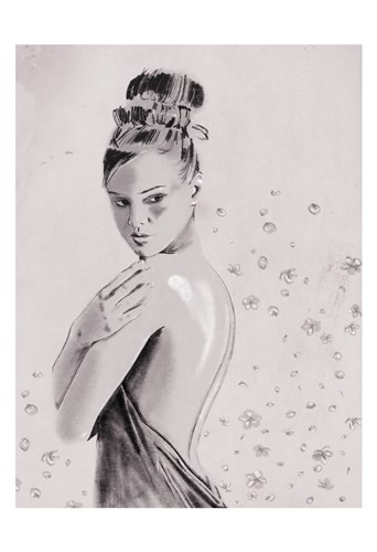 Shes A Flower Too art print by OnRei for $22.50 CAD