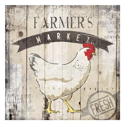 Farmers Market art print by OnRei for $18.75 CAD