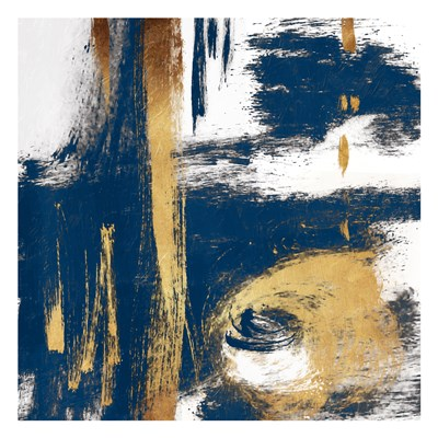 Rotational Pull Blue art print by OnRei for $18.75 CAD