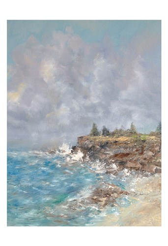 Maine Coast art print by Peter Laughton for $18.75 CAD