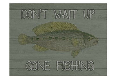 Fishing art print by Sheldon Lewis for $22.50 CAD
