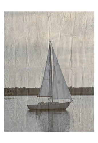 Yacht Club 3 art print by Sheldon Lewis for $22.50 CAD
