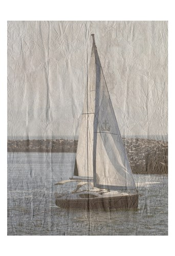 Yacht Club 4 art print by Sheldon Lewis for $22.50 CAD