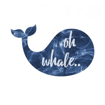 Oh Whale art print by Sheldon Lewis for $18.75 CAD