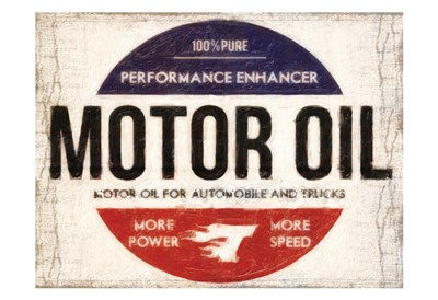 Motor Oil art print by Taylor Greene for $22.50 CAD