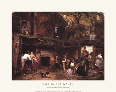 Life In The South art print by Unknown for $7.50 CAD