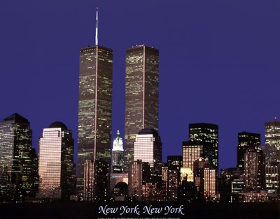 Wtc Skyline art print by Unknown for $7.50 CAD