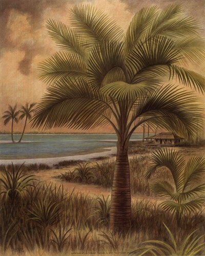 Island Palm II art print by Ron Jenkins for $7.50 CAD