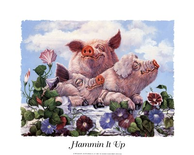 Hammin' It Up art print by Unknown for $18.75 CAD