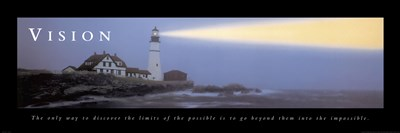 Vision-Lighthouse art print by Unknown for $17.50 CAD
