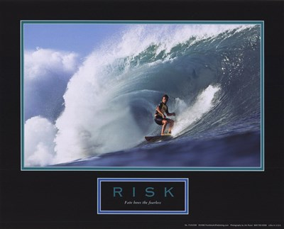 Risk-Surfer art print by Unknown for $7.50 CAD