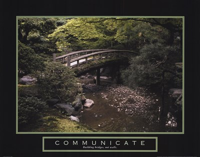 Communicate - Bridge art print by Unknown for $20.00 CAD