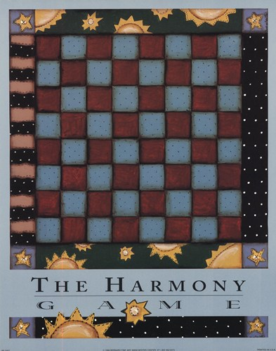 The Harmony Game art print by Robin Betterly for $10.00 CAD