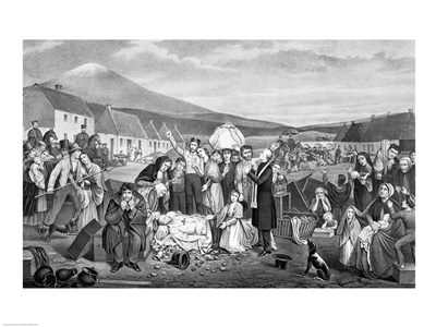 The Eviction: A Scene from Life in Ireland art print by Unknown for $32.50 CAD