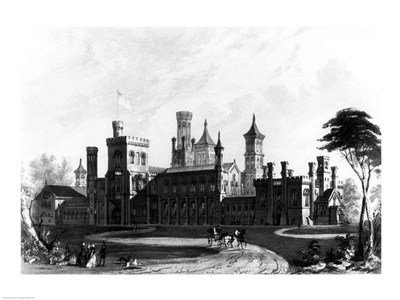 Smithsonian Institution from the South West art print by Unknown for $32.50 CAD