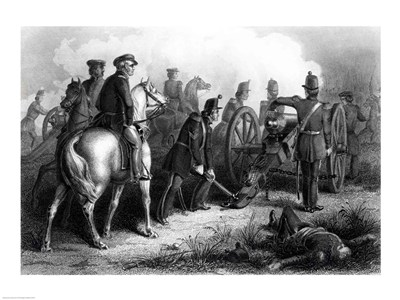 General Taylor at Buena Vista art print by Unknown for $32.50 CAD