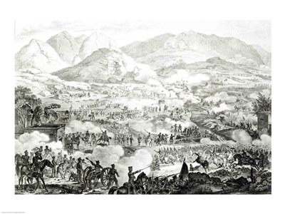 Ever Memorable Battle of Buena Vista art print by Unknown for $32.50 CAD