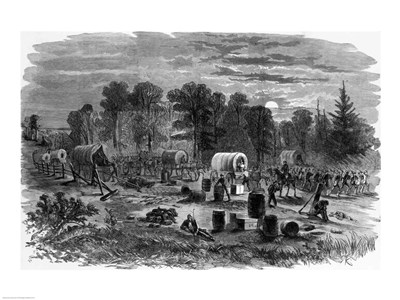 Blenker's Brigade Covering the Retreat Near Centreville, July 1861 art print by Unknown for $32.50 CAD