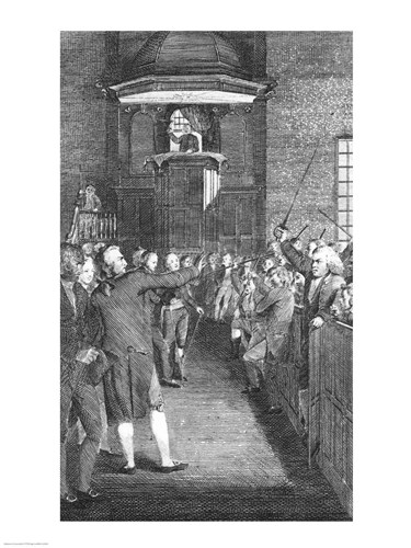 Town Meeting, c.1770 art print by Unknown for $32.50 CAD