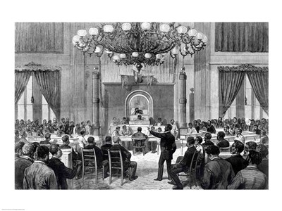 The Colored National Convention in Session art print by Unknown for $32.50 CAD