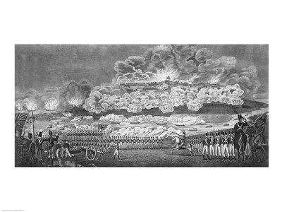 Representation of the Capture of the City of Washington art print by Unknown for $32.50 CAD